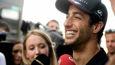 Potem jak zwykle uśmiechnięty Australijczyk znalazł chwilę na rozmowę z dziennikarzami.