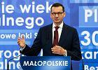 Konwencja regionalna PiS w Krakowie. Mateusz Morawiecki mówił o Małgorzacie Wassermann i królowej Jadwidze