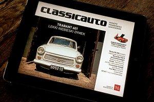 Miesięcznik Classicauto dostępny na tablety
