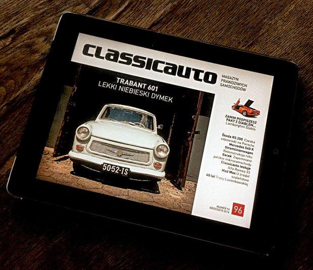 Miesi�cznik Classicauto dost�pny na tablety