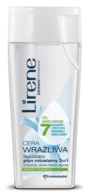 Lirene - �agodz�cy p�yn micelarny 3 w 1