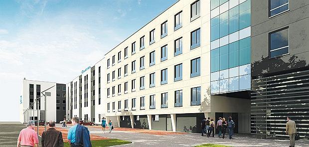 Wojewódzka 10  Nowe biura i hotel w centrum Katowic