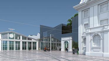 Wizualizacja Centrum Kultury Technicznej