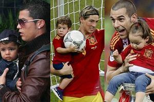 Najwięksi piłkarze Euro 2012 to... tatusiowie. Zobacz, jakie mają słodkie dzieciaki!