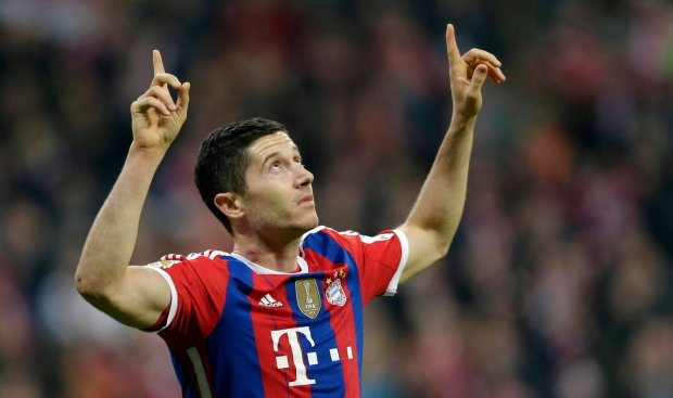 "Bundesliga. Lewandowski drugi raz w jedenastce kolejki ""Kickera"""