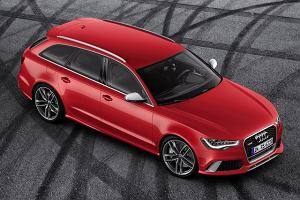 Nowe Audi RS6 Avant   Wideo