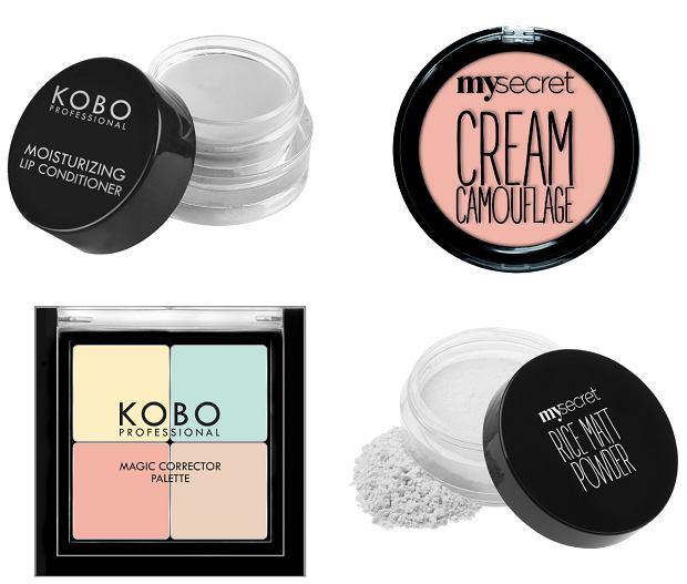 Nowości makijażowe marek KOBO Professional i My Secret w drogeriach Natura