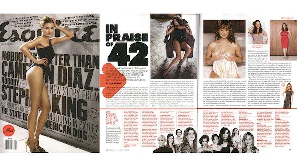 """""""Esquire"""" ogłasza: 42-letnie kobiety są sexy. Rewolucja czy skandal?"""