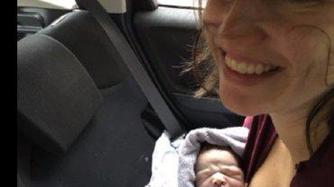 Poród w samochodzie