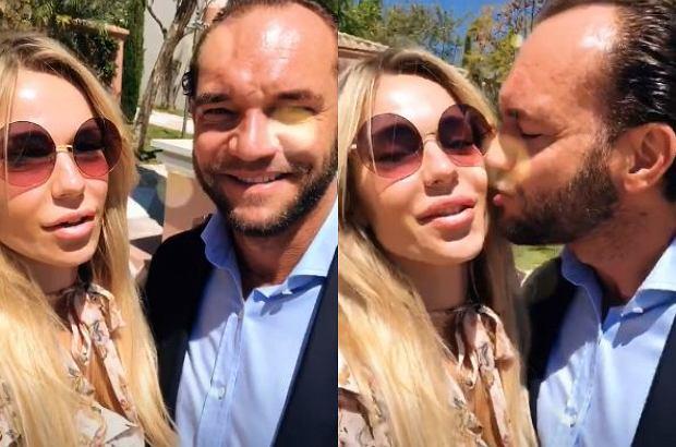 Doda na swoim Instagramie opublikowała pierwszy filmik po ślubie z Emilem Stępniem.