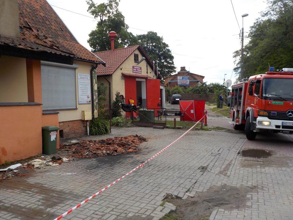 Tragedia W Gutkowie Trzy Osoby Spłonęły W Pożarze