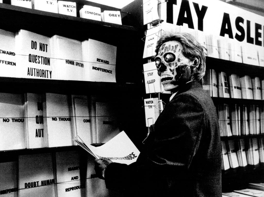 They Live, 1988 / mat. prasowe, mat. wytwórni Universal Pictures