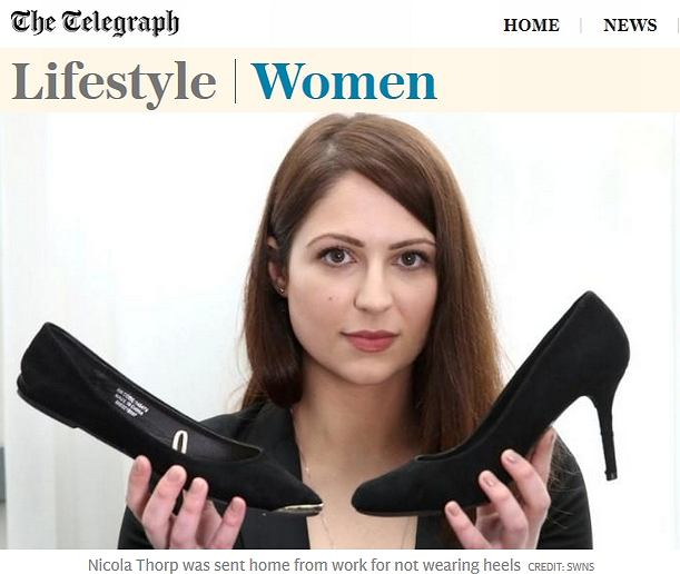 Walka o wysokie obcasy: czy szpilki podnoszą pozycję zawodową kobiet?