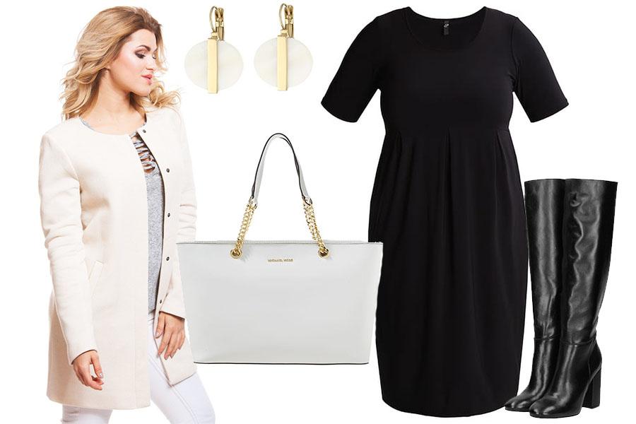 376027366b21 Stylizacje dla puszystych - modne zestawy do pracy  Moda plus size