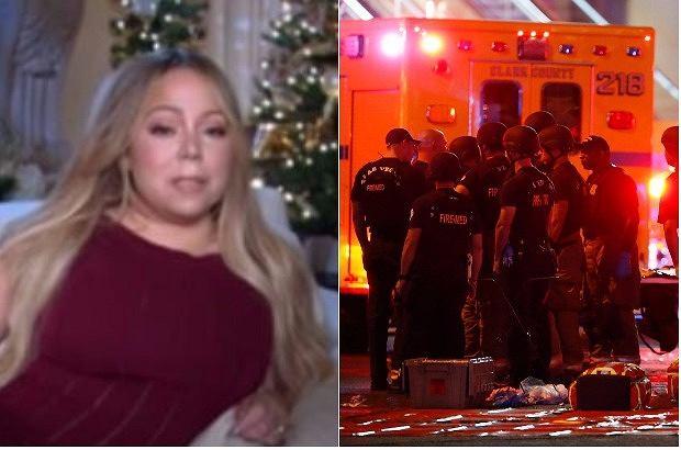 Mariah Carey opowiadała w programie śniadaniowym o swojej świątecznej trasie koncertowej, kiedy niespodziewanie poproszono ją o komentarz do tragicznych wydarzeń w Las Vegas. Wyemitowana rozmowa mocno wstrząsnęła internautami.