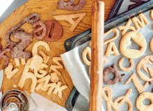 Kruche ma�lane ciasteczka - ugotuj