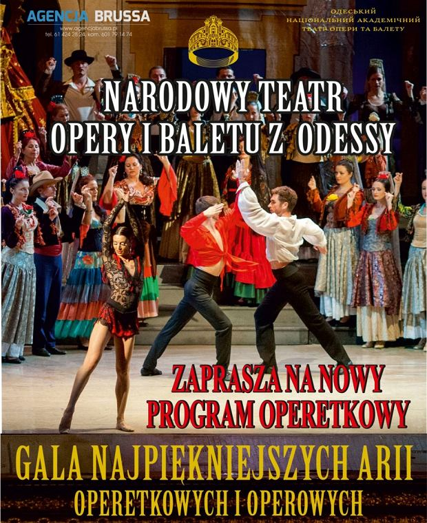 Narodowy Teatr Opery i Baletu z Odessy z trasą koncertową w Polsce / mat.pras.