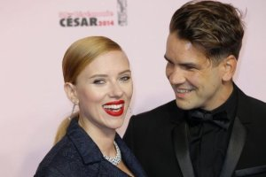 Scarlett Johansson i Romain Dauriac