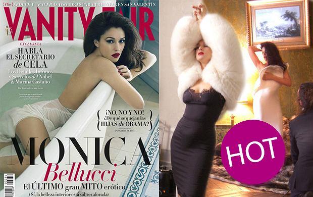 """Monica Bellucci dla """"Vanity Fair"""" - mamy ekskluzywne zdj�cia z backstage'u sesji!"""