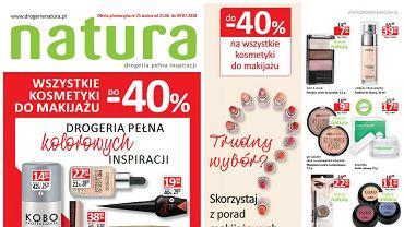 Aktualna gazetka promocyjna Drogerii Natura ważna jest w dniach 21 czerwca - 4 lipca 2018