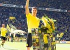 Bundesliga. Lewandowski po�egna� si� z kibicami w Dortmundzie. Dosta� owacj� na stoj�co