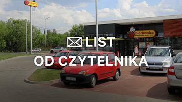 Płatne parkingi pod Biedronką