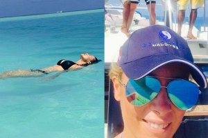 Kinga Rusin i Karolina Ferenstein-Kra�ko na Malediwach