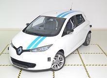 Renault samo ominie przeszkodę