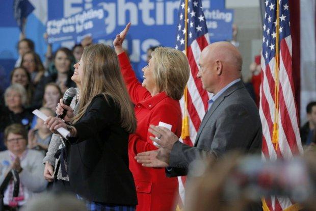 Hillary Clinton na Uniwersytecie Stanowym Iowa w Ames