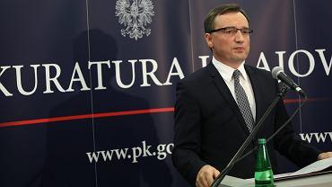 Zbigniew Ziobro, minister sprawiedliwości i prokurator generalny.