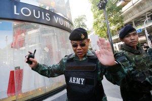 Tajlandia: policja rozbroi�a �adunek wybuchowy w Bangkoku