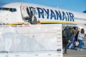 Ryanair ugina się przed pilotami. Strajku nie będzie? Ale akcje na giełdzie spadły na łeb, na szyję