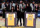 Kobe Bryant uhonorowany przez Lakers. Dwie koszulki pod dachem Staples Center