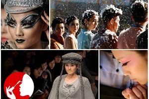Chiński Tydzień Mody: Najciekawsze (i najdziwniejsze) makijaże
