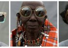Kenijczycy w reklamie okularów Karen Walker. Oryginalna kampania jest zwi�zana z pewnym projektem ONZ