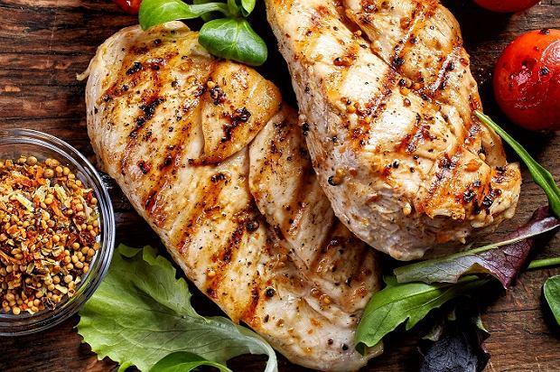 Курица с острым перцем