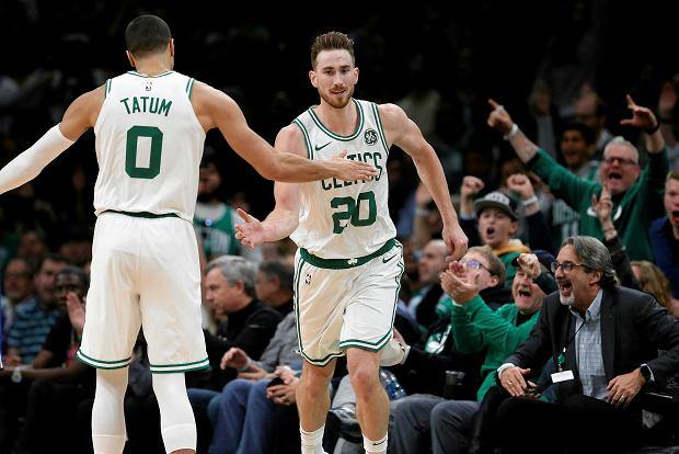 Zdjęcie numer 1 w galerii - Ruszył sezon NBA. Celtics rozbili 76ers, Hayward i Irving wrócili