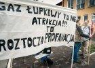 Protest przeciwko �upkom. W�jt: Putinolodzy paszli won!