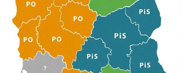 Podano wyniki g�osowania do sejmiku Mazowsza. G�r� jednak PiS!
