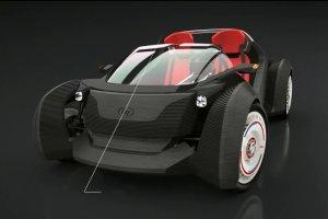 Oto pierwszy samoch�d z drukarki 3D. Kosztuje 18 tys. dolar�w
