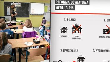 Reforma oświaty według PiS