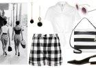 W stylu lat 60: geometryczne black & white na lato