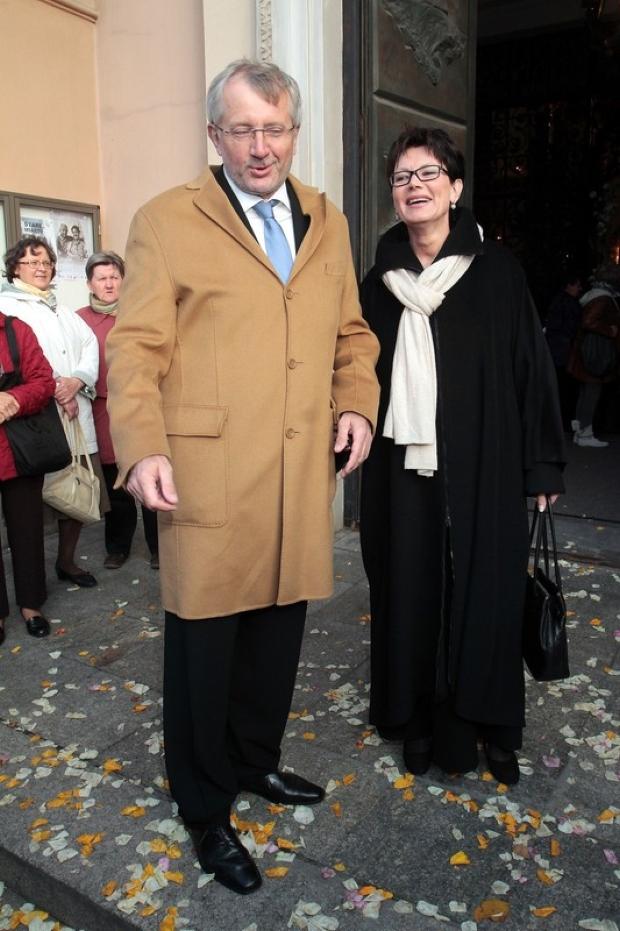 22.09.2012 Warszawa   Slub Aleksandry Kwasniewskiej i Kuby Badacha   N/z Marek Siwiec  fot. Adam Jankowski/REPORTER