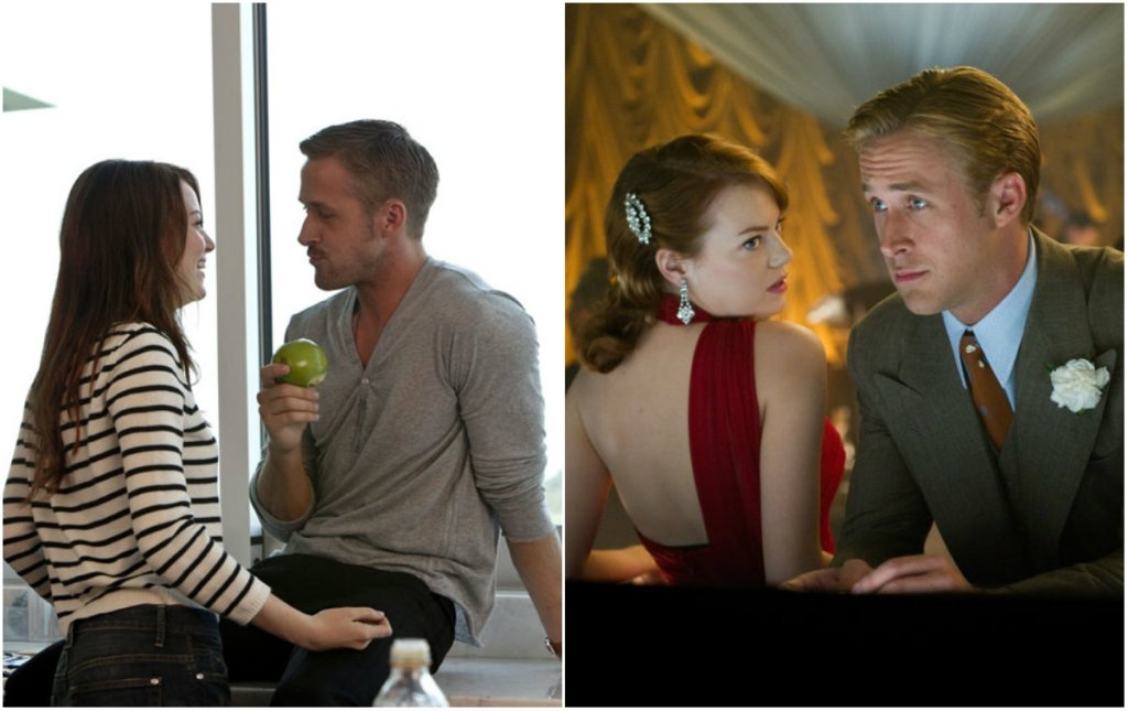 Emma Stone i Ryan Gosling w filmach