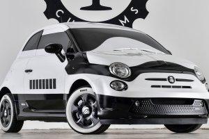 Salon Los Angeles 2015   Fiat 500E Stormtrooper   Po z�ej stronie mocy