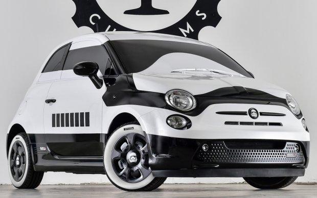 Salon Los Angeles 2015 | Fiat 500E Stormtrooper | Po złej stronie mocy