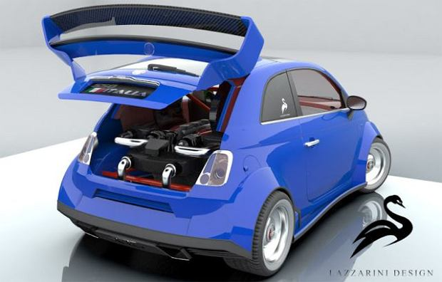 Fiat 550 Italia - z silnikiem Ferrari