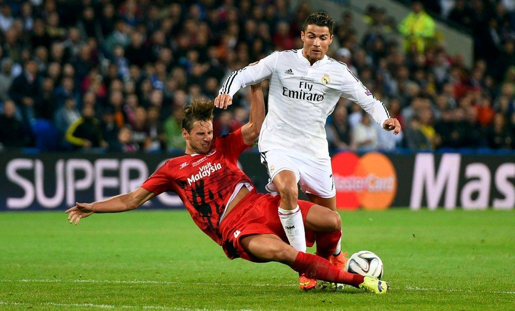 Superpuchar Europy 2014. Real Madryt - Sevilla 2:0. Krychowiak i Ronaldo