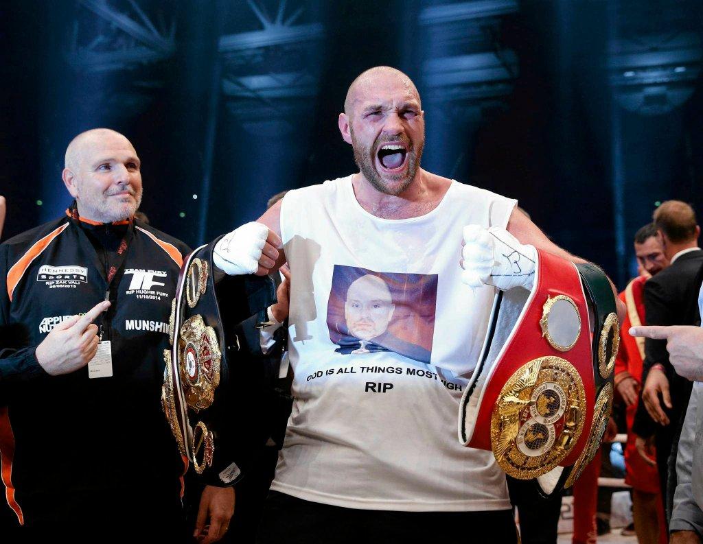 Tyson Fury pokonał Kliczkę i odebrał mu cztery pasy mistrza świata!