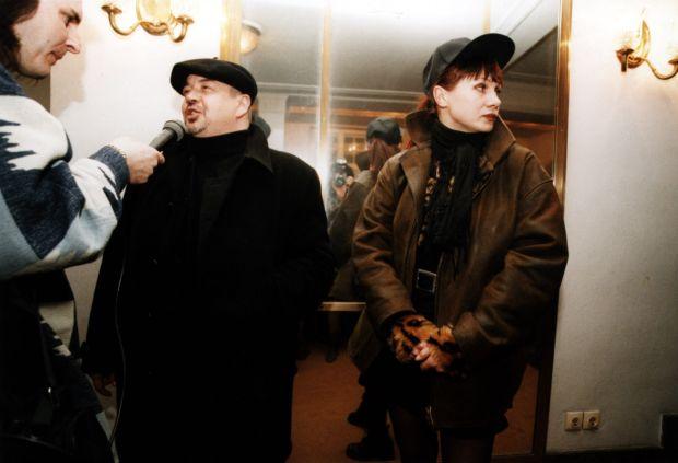 Stanislaw Sojka (Soyka), Grazyna Trela  fot.Radek Nawrocki/Forum